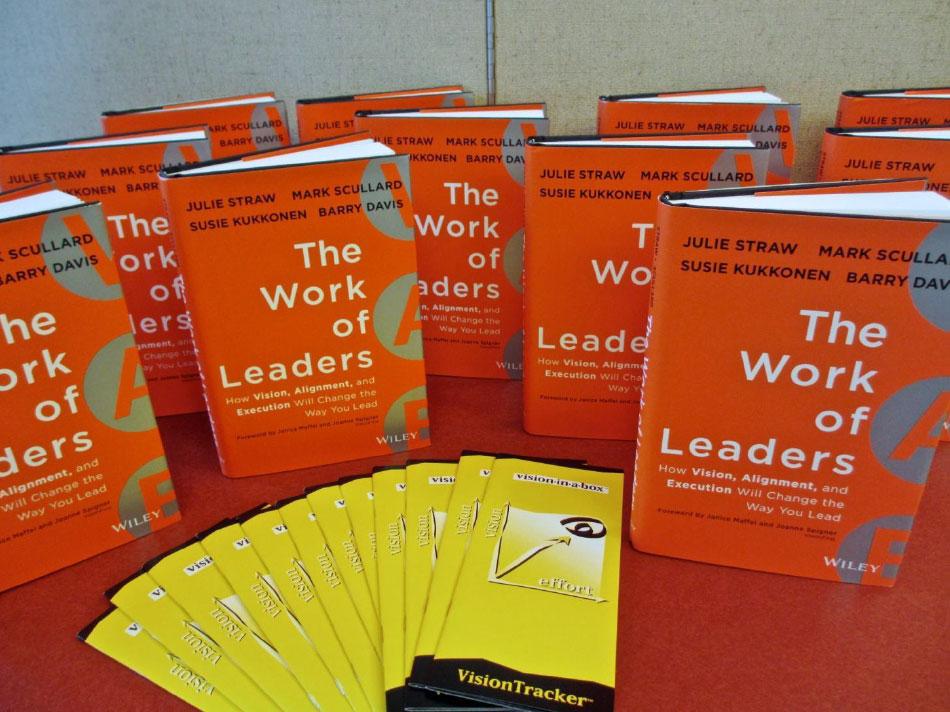 Work of Leaders book display