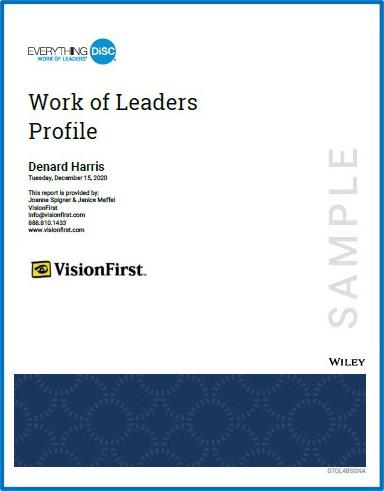 WOL Sample Report Cover